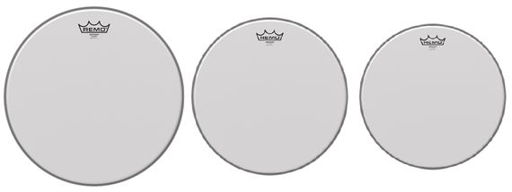 Remo Coated Emperor Tom Drum Head Package