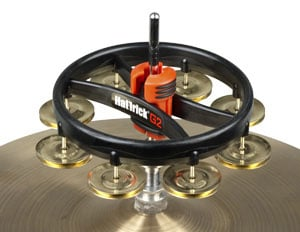 Rhythm Tech RT7420 Hat Trick G2 HiHat Mounted Tambourine