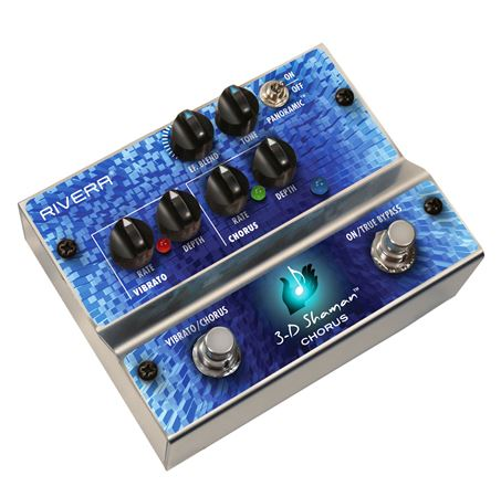 Rivera 3D Shaman Chorus Guitar Effects Pedal