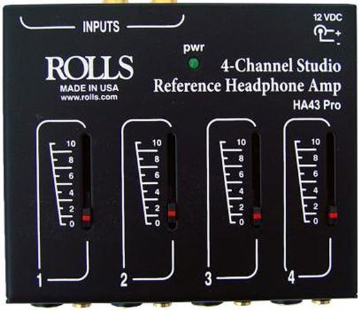 Rolls HA43 Pro Headphone Amplifier