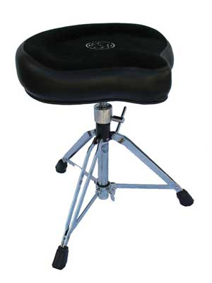 Roc N Soc MS Mac Saddle Drum Throne With Double Braced Spindle Base