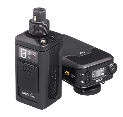 Rode RODELink Newsshooter Kit Digital Plug-On Wireless Mic System