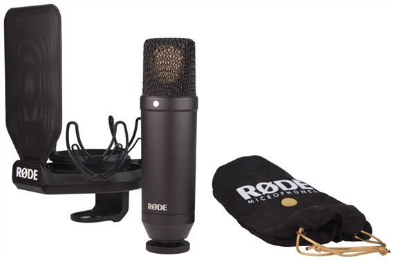 Rode NT1 Cardioid Condenser Microphone