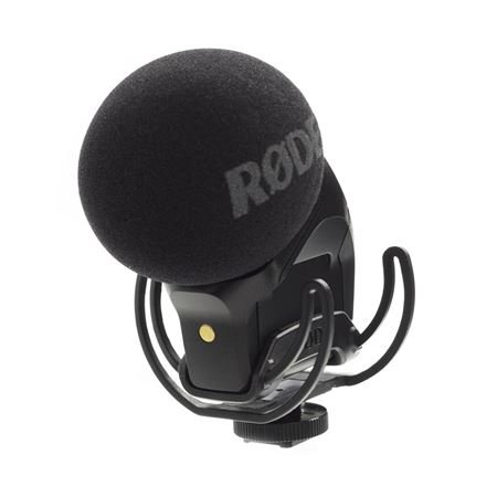 Rode SVMPR Stereo VideoMic Pro Condenser Camera Mic With Rycote Lyre