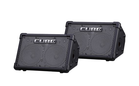 Roland Cube Street EX PA Pack Battery Powered Stereo PA System