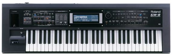 Roland GW8 61 Key Synthesizer Arranger Workstation Keyboard