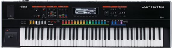 Roland Jupiter50 76 Key Synthesizer Keyboard