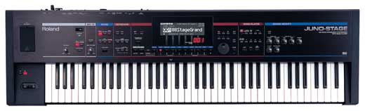 Roland Juno Stage 76 Key Synthesizer Keyboard