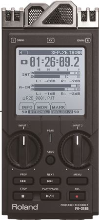 Roland R26 Portable Digital Recorder
