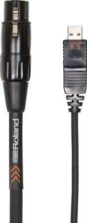 Roland RCC 10 USXF XLR to USB Cable