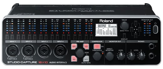 Roland StudioCapture USB Audio Interface