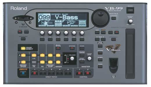 Roland VB99 V Bass System Guitar Synthesizer
