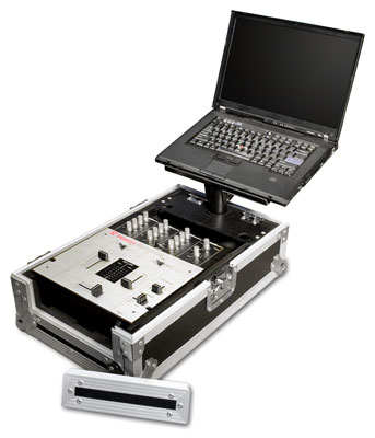 Road Ready RR10MIXL 10 inch DJ Mixer Case with Laptop Tray