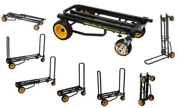 RocknRoller Multi-Cart R16RT Ground Glider Max Equipment Cart