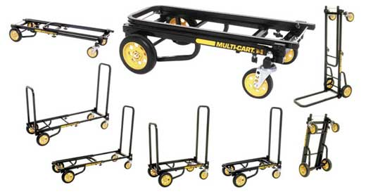 Rock N Roller Multi-Cart Equipment Cart