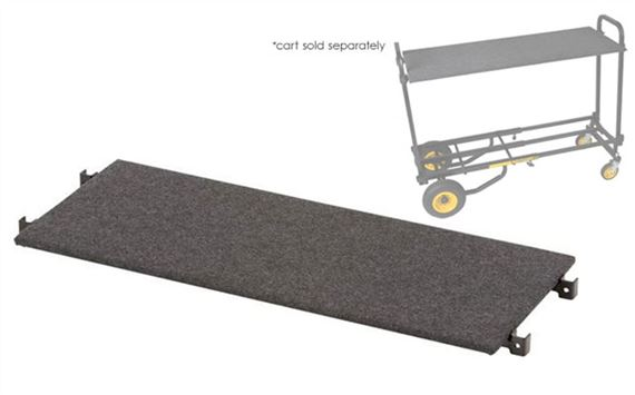 Rock n Roller Carpeted Shelf for Multi Equipment Cart