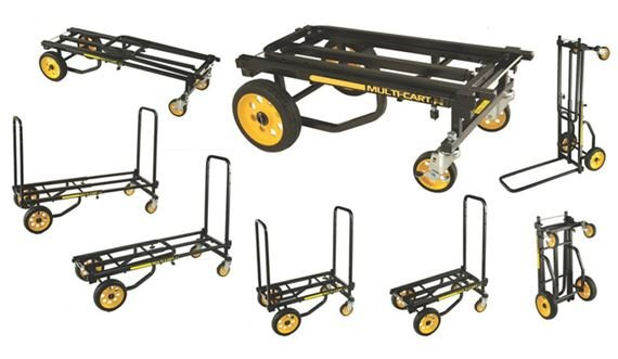 Rock N Roller Multi-Cart Equipment Cart with R Trac Wheels