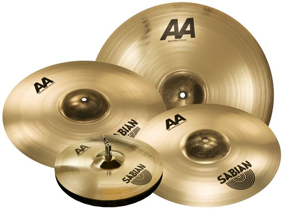 "Sabian AA XCelerator Bash Value Added Cymbal Set Free 18"" Value $219"