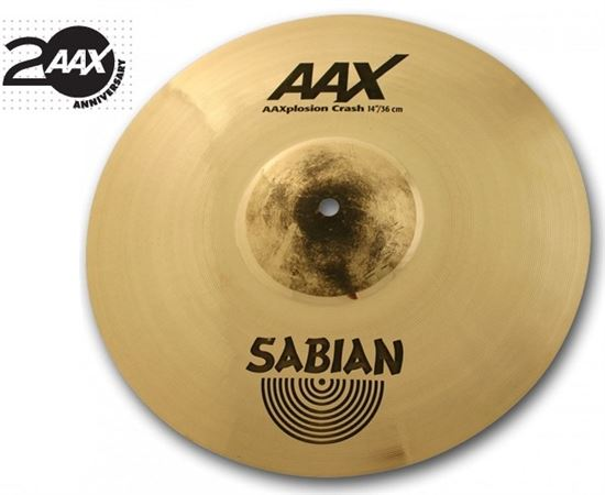 Sabian AAX XPlosion Crash Cymbal Brilliant Finish
