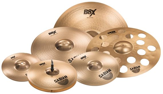 Sabian B8X Super Cymbal Set