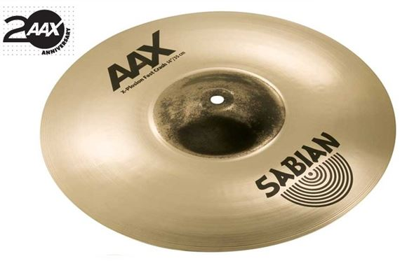 Sabian AAX XPlosion Fast Crash Cymbal Brilliant Finish