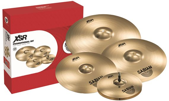 Sabian XSR5005GB Performance Set 14HH/16FC/20R/Free 18FC