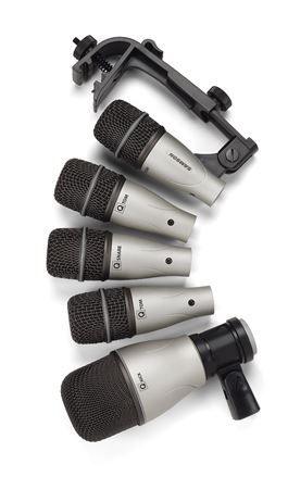 Samson 5KIT 5 Piece Drum Microphone Set