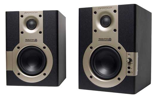 Samson MediaOne 4A Powered Studio Monitors