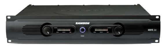 Samson Servo 200 Stereo Power Amplifier