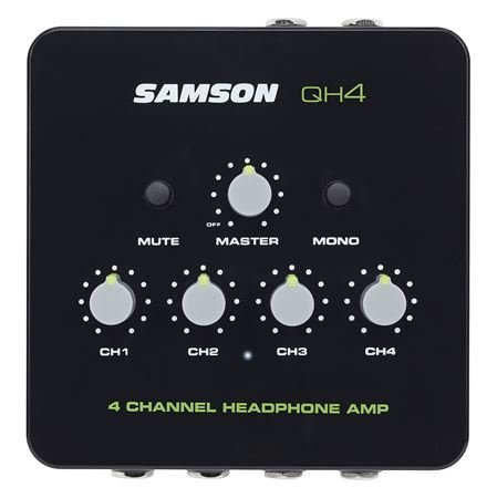 Samson QH4 4 Channel Studio Headphone Amplifier