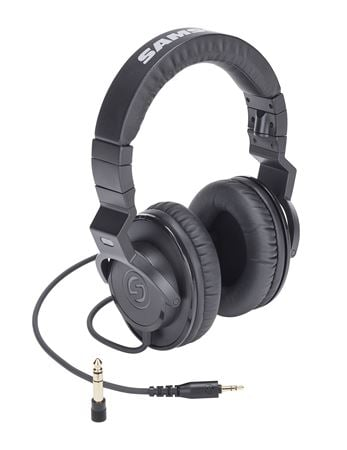 Samson Z25 40mm Drivers Closed Back Studio Headphones