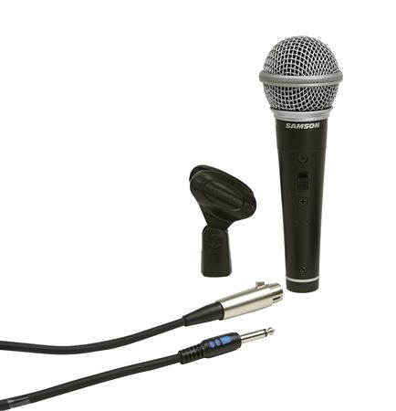 Samson Dynamic Cardiod Handheld Mic with Switch