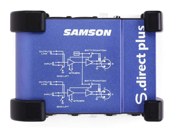 Samson S direct Plus Active Stereo Direct Box