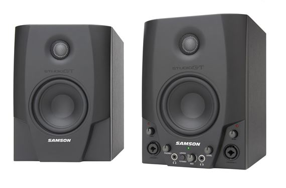 Samson Studio GT4 Active Monitors with USB Audio Interface