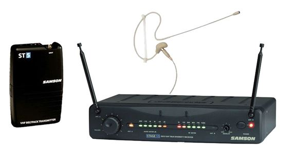 Samson Stage 55 VHF TD Wireless System with SE10 Headset