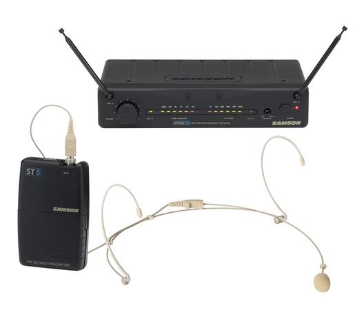 Samson Stage 55 Headset Wireless System with DE5 Mic