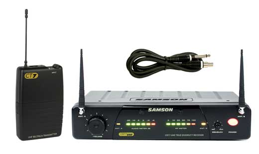 Samson Concert 77 UHF TD Wireless Guitar System