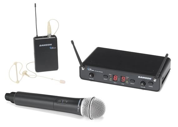 Samson Concert 288 Pro Combo Dual Channel Wireless System