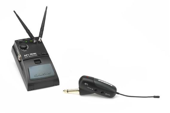 Samson Airline UHF Guitar Wireless System for Fender