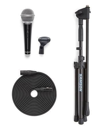 Samson VP10X Microphone Value Pack