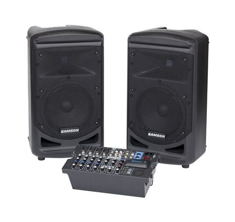 Samson XP800B 800 Watt Portable Bluetooth PA System
