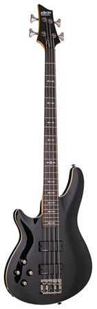 Schecter Omen 4 Left Handed Electric Bass Guitar