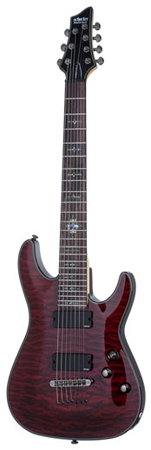 Schecter Damien Elite 7 7-String Electric Guitar
