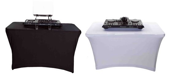 Scrim King SS-TBL401 4' Table Scrim with Open Back
