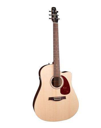 Seagull Coastline S6 Slim CW QIT Acoustic Electric Guitar Spruce