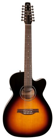 Seagull S12 Spruce Cutaway Acoustic Electric Guitar