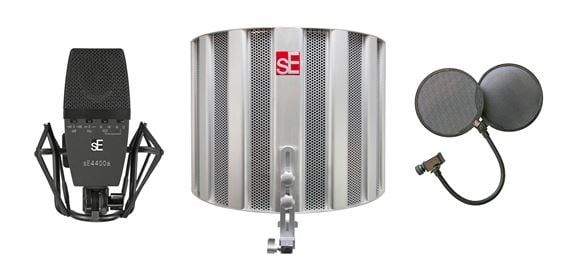 SE Electronics SE4400a Mic Studio Bundle With Space Reflexion Filter