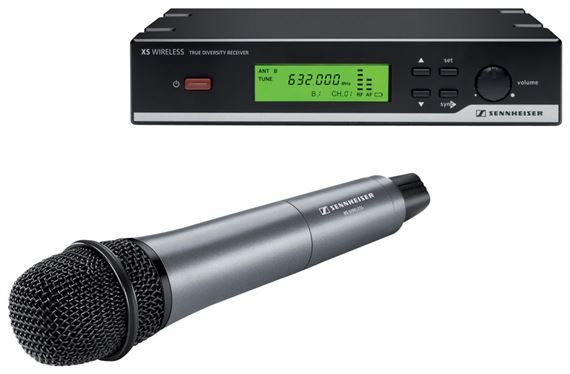 Sennheiser XSW35 Handheld Wireless Microphone System with e835