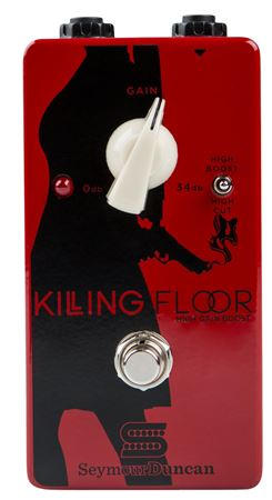 Seymour Duncan Killing Floor High Gain Boost Effects Pedal