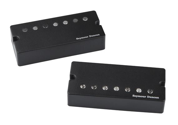Seymour Duncan Jeff Loomis Set Active Mount Black 7 String